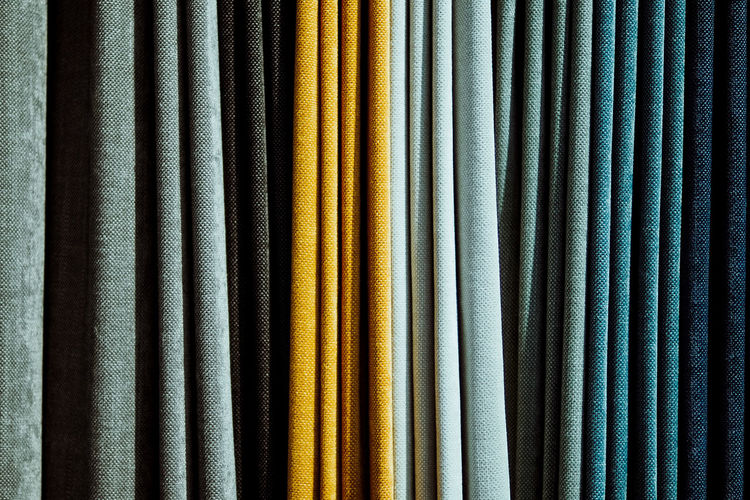 striped patterns Backgrounds Close-up Curtain Day Drapes  Fabric Full Frame Hanging Indoors  Multi Colored No People Stripes Pattern Textile Textured