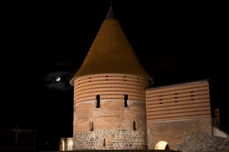 Kaunas Castle. Architecture Castle Fortress Fortress In Europe Fortress Of Stone Kaunas Castle Night Old Architecture Old Town Stronghold Tourism History Geschichte Cities At Night Historical Building Historical Monuments