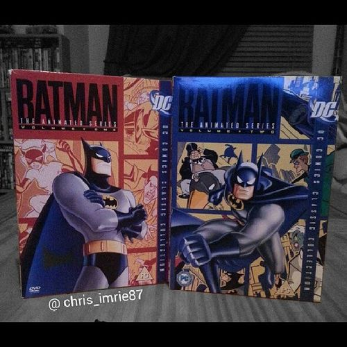 Best animated series there is and ever will be for Batman. Grew up with these and i love to rewatch them. Mark Hamill and Kevin Conroy will forever be Joker and Batman. I only have the first 2 volumes though, does anyone know where I can get volumes 3 & 4 in the UK? Maybe even the whole collection on blu ray? Batman Darkknight Batmanfamily DC Dcuniverse BatmanTheAnimatedSeries Tas Theanimatedseries Kevinconroy Joker Markhamill DVD Bluray Help