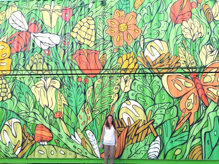 Wall Art / Arboleda 🌳 Spgg Wallart Streetart Arboleda Painting Summer15