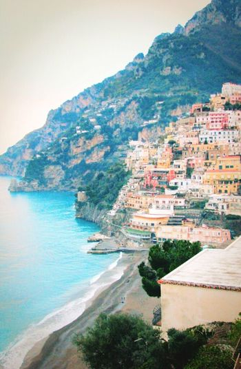 4YearsAgo Travel City Positano Italy Amalfi  Gorgeous Romantic Colorful