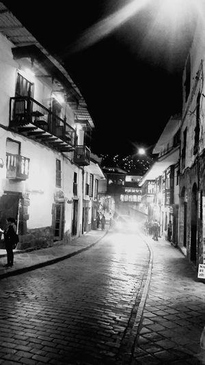 Cuzco at Night Cuzco - Peru Cusco, Peru Cusco At Night The Street Photographer - 2016 EyeEm Awards Monochrome Photography