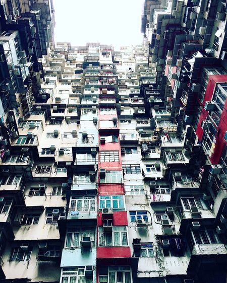 Architecture Building Exterior City Day Outdoors Residential Building Air Conditioner Full Frame Ghetto Apartment No People City Travel HongKong Hong Kong Hongkong Photos Yick Fat Building IPhoneography Iphoneonly IPhone Iphonephotography IPhone Photography