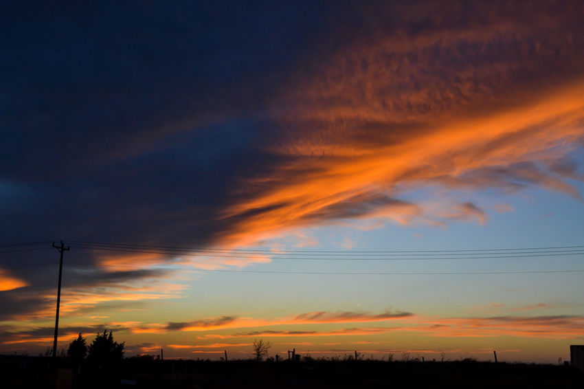 Photo by Cooper Billington in Oklahoma City, Oklahoma #landscape #photography Beauty In Nature Outdoors Sky Sunset