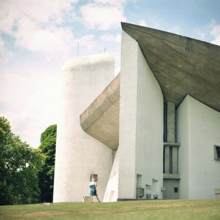 Lecorbusier Architecture People OpenEdit Living Bold Minimalism Summer Landscape RePicture Travel France
