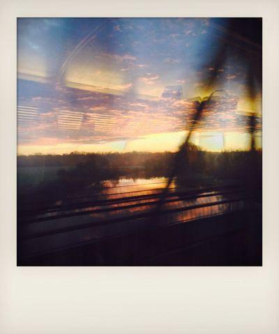 Frühzug Polaroid