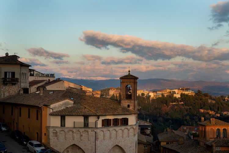 Sky City Nature Perugia Italy Perugia