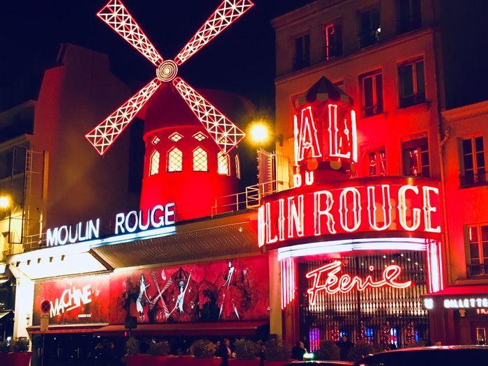 Moulin Rouge Theatre Paris Moulin Rouge