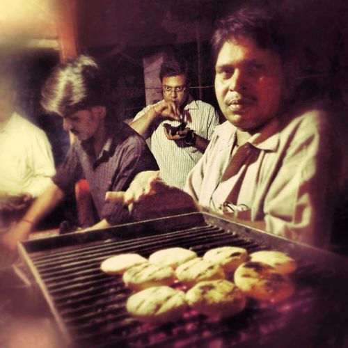 Litti land... It was a Roadside food evening today! India Food kiosk