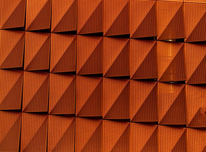 Windows Waterfront EyeEm Selects Backgrounds Full Frame Pattern No People Repetition Design Close-up Textured  Shape Wall - Building Feature Orange Color Brown Geometric Shape Tile Indoors  In A Row Abstract Checked Pattern Day