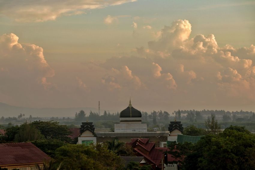 Mosque Travel Destinations Gold Colored Outdoors Arts Culture And Entertainment Travel Religion Arrival Gold Urban Skyline Landscape Sky City History Architecture Indonesia_photography Masjid Aceh, Indonesia Acehview Acehbesar Aceh Indonesia Acehdocumentary Acehbeautiful Acehadventure