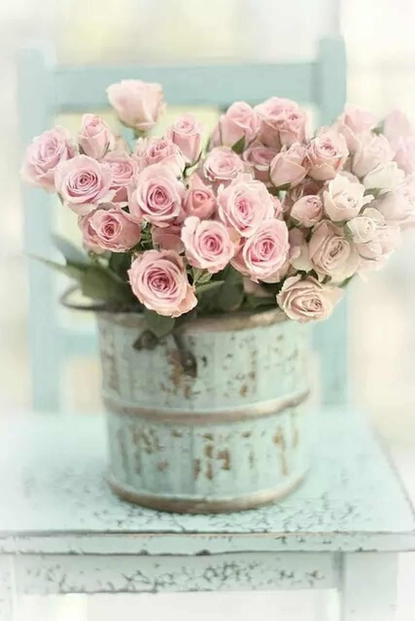 flower, freshness, fragility, petal, indoors, close-up, flower head, vase, rose - flower, focus on foreground, pink color, beauty in nature, decoration, bunch of flowers, nature, plant, flower arrangement, bouquet, selective focus, potted plant