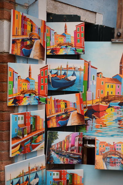 Day Travel Destinations Multi Colored Travel Sea Variation Postcard No People Market Nautical Vessel Outdoors Water Urban Skyline Cityscape Scenics Venezia