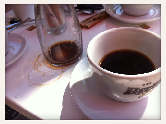 nice chatting w/ @lazershark & @paper_c again #coffeediary