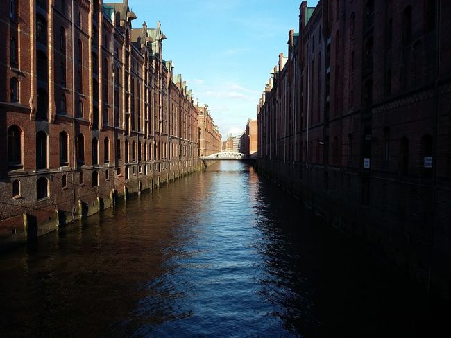 Guess What—the Legendary, Gorgeous, Beautiful Hamburg Speicherstadt ;) · Germany 040 Hamburgmeineperle Hafen City Warehouses Warehouse Storagehouse Trade Commerce History Architecture Iconic Buildings Iconic Landmark Water Light And Shadow Golden Hour The Purist (no Edit, No Filter) &c. Pp.