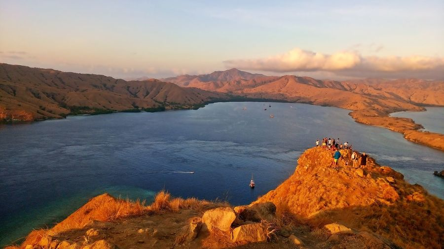 Gili Lawa Komodo National Park East Indonesian EyeEm Selects Mountain Sunset Sky Landscape Volcano Volcanic Activity Volcanic Landscape Physical Geography