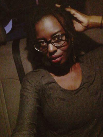 Eyeglasses  One Person Night Awkwardly Awesome NaturalBeauty Lips Chocolate Beauty Redefined Lesbian Nightlife Black Hair Melanin Gorgeous Beautiful Skin Sensual 💕 Brown Eyed Girl
