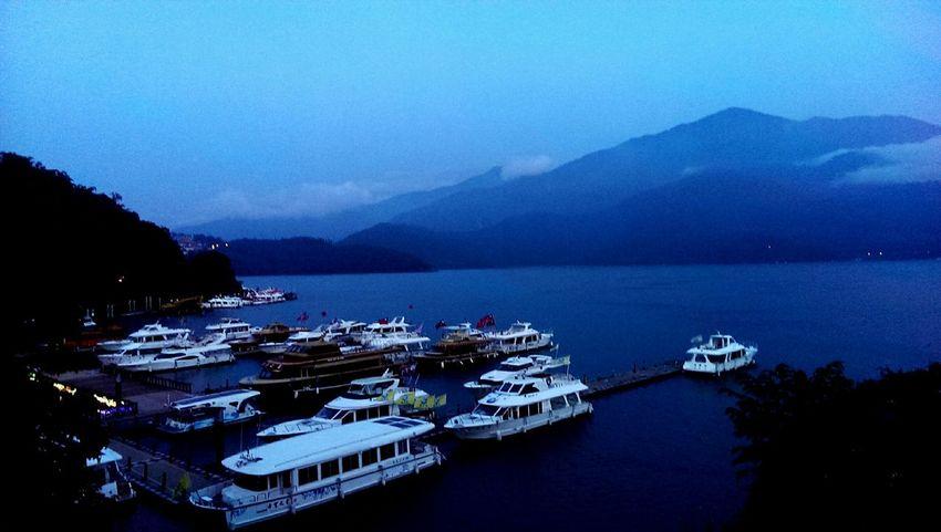 日月潭 E,g Dalian Taiwan Etc Boats 渡輪 Playing