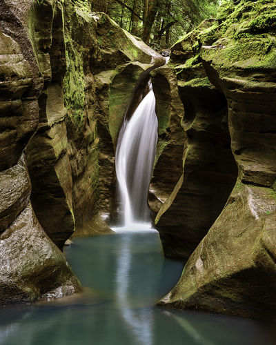 Ohio Waterfall Corkscrew Falls Waterfall_collection Water Nature Landscape