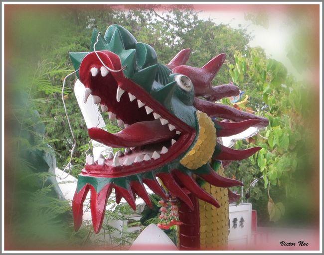 Victor Noc Art 🎱 La Collina Del Budda Draghi Pattaya City Thailandia 2015 VicNoc VictorNocArt VittNoc Vittorio Nocente Artfoto