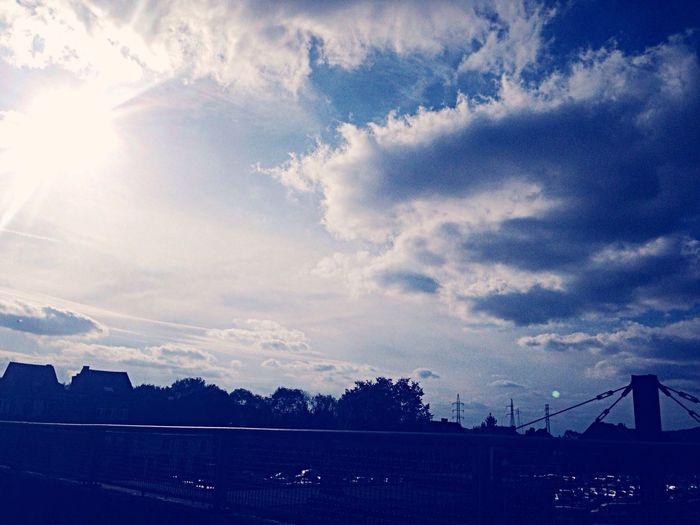 Clouds October Sun