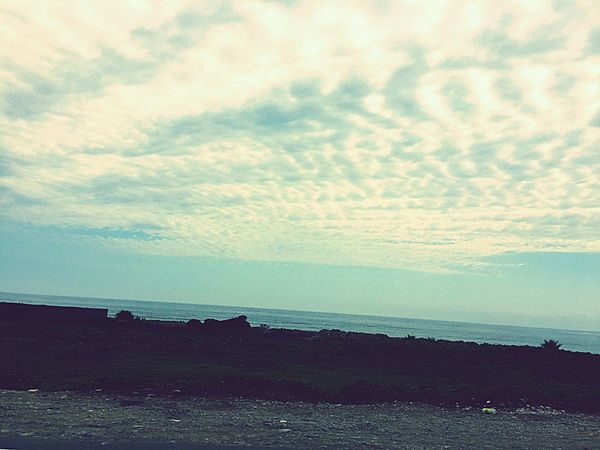 eternity Horizon Over Water Sky Sea Tranquility No People Outdoors Clouds Escape From Reality