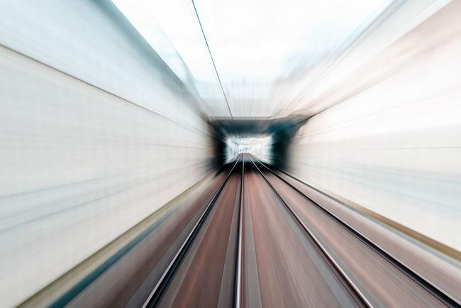 D800 Nhphoto Nikon Rail Railway Speed Train Tunel Vitesse