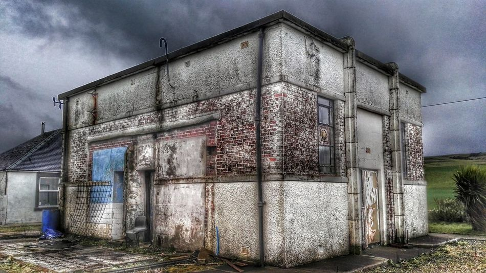 Abandoned Run-down Building