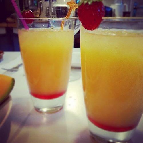 Téquila Sunrise. Home Instapero Fraisedujardin Cocktail Tequila