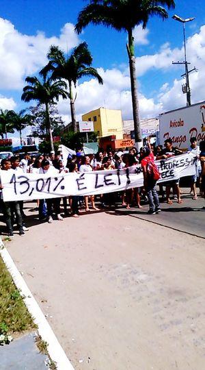 Protest Lutando Alunos Educacao 👏👏