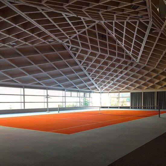 Tenniscourt Indoors  Day No People Built Structure Architecture Sport Empty Roof