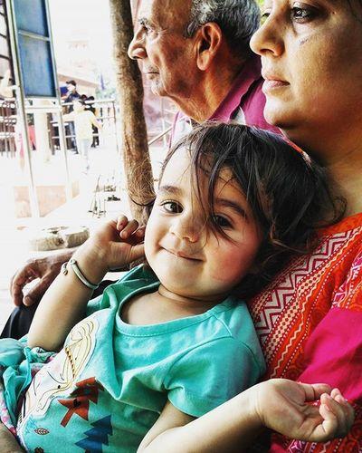 Childhoodmemories Cherish  Fearfree Problemfree Contrast Mother @ Beautiful Fun Enjoying Carefree Nature Taj diaries ....Refreshing Expression warmweather old vs youngrandomoneplus2remembering my childhood