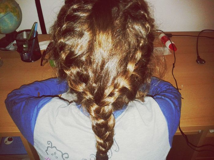 Life *-* Working Long Hair That's Me my life my work :*