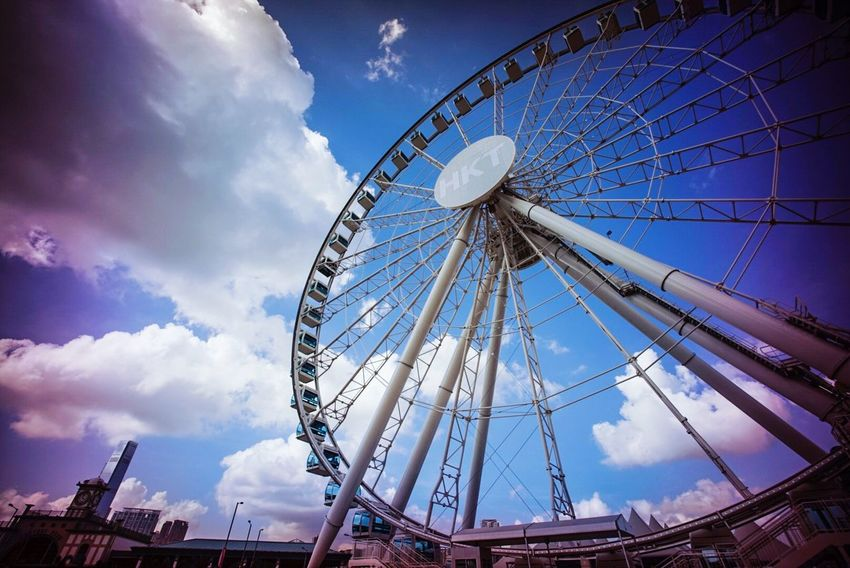 Ferris Wheel Ferriswheel Ferriswheelinthecity🎡🎢 Summer 2015 Hong Kong Observation Wheel 2015 Life In Hong Kong Central Hong Kong Hong Kong Harbour I Love Hong Kong Cityscapes