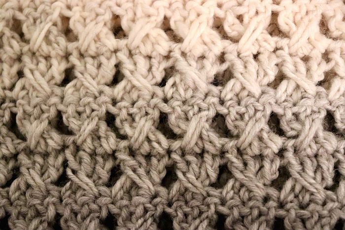 I love crocheting. It's the one thing that calms me and clears my head. I don't remember when I found this pattern but it's my favorite one for when I make scarfs or anything else. Handmade Yarn Wool Knitting Crochet Pattern Woven Woolen Textured  Ball Of Wool Winter Close-up Skill  No People Backgrounds Full Frame Textile