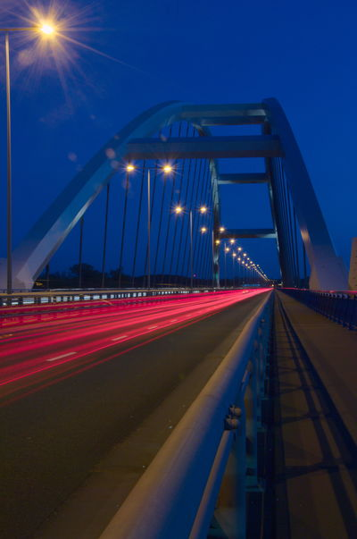Bridge - Man Made Structure Illuminated Night Road City Transportation Architecture Street At Night NikonD3100 Nikkor 18-105mm River Wisła Torun, Poland