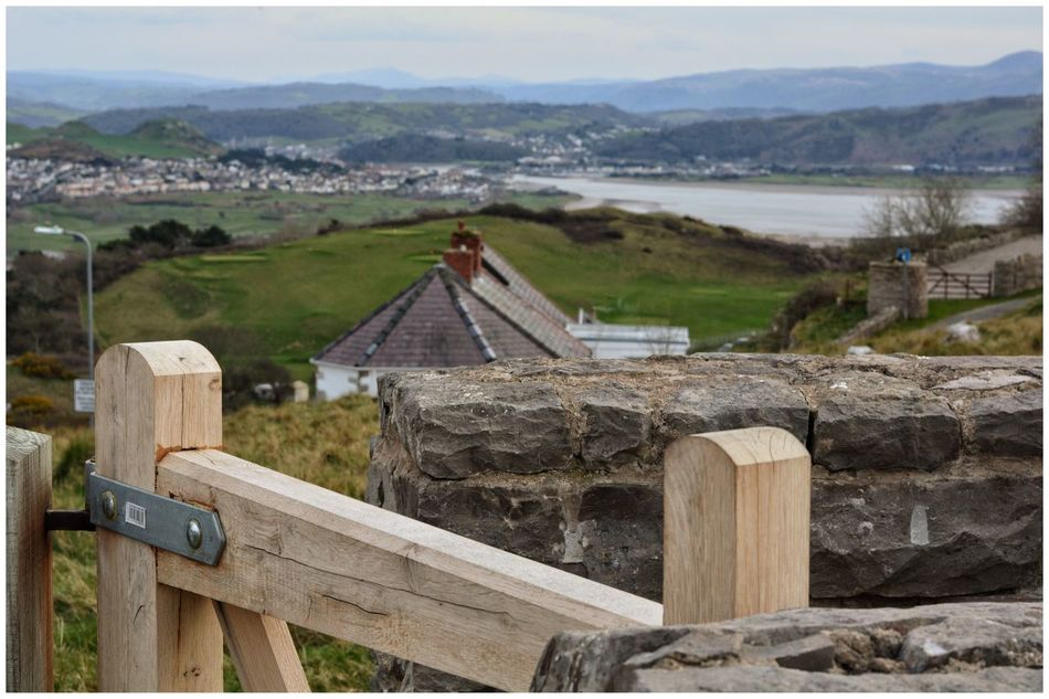 Wooden Gate on descent of Great Orme with Llandudno in Background Wood Wood - Material Gate Foreground Focus Check This Out Relaxing Taking Photos Snowdonia Landscapes EyeEm EyeEm Best Shots Eye4photography  Eyemphotography EyeEm Gallery Eyeemphotography
