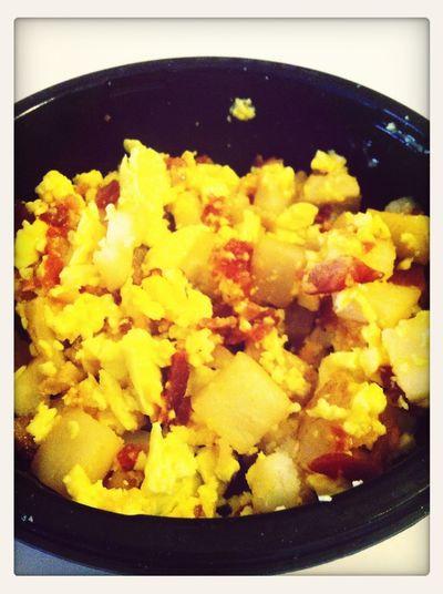 Breakfast bowl! Yumm.