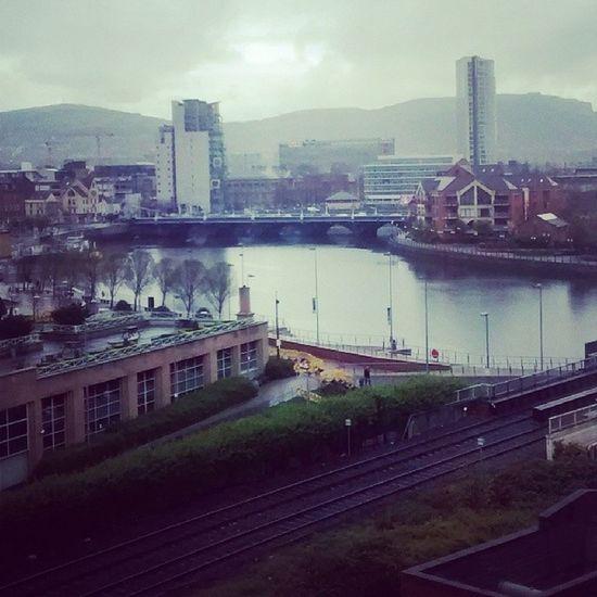 River Lagan Belfast Ireland