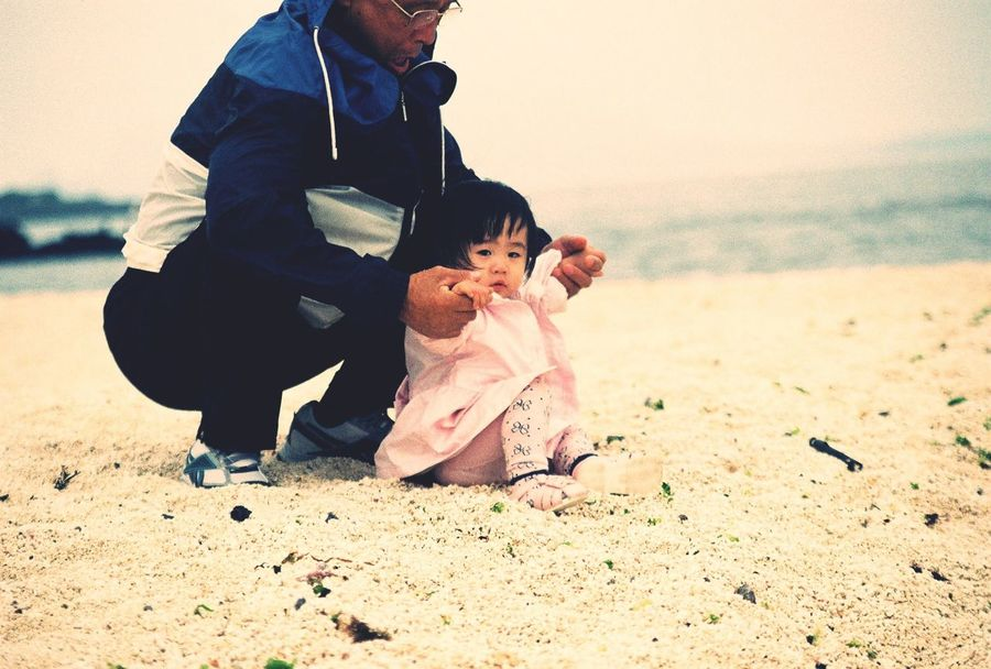 On The Beach Baby JEJU ISLAND  Travel