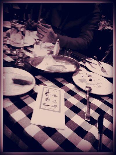 Dinner at Taverna Athene Dinner