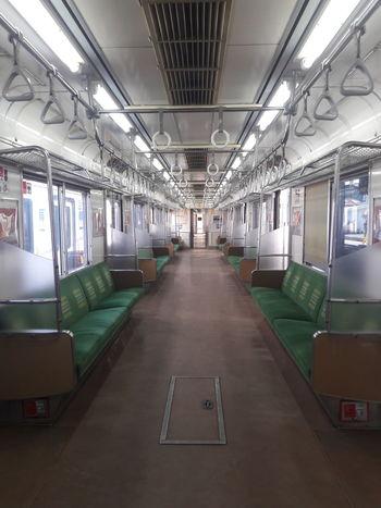 Commuter Line Indonesia Rail Transportation Public Transportation EyeEmNewHere Railway Station Platform