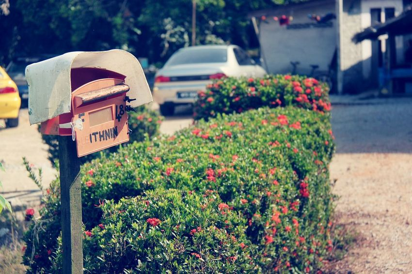 Broken mailbox Outdoors No People Day Mailbox Broken Vintage Classic