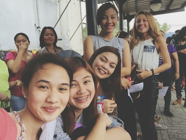 throwback PBB audition with my girlfriends <3 PBB Girlfriends ♥ Great Experience