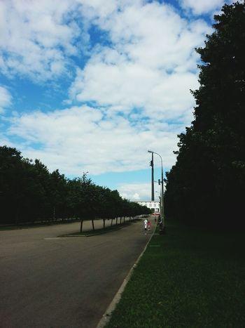 Москва паркпобеды Природа небо First Eyeem Photo
