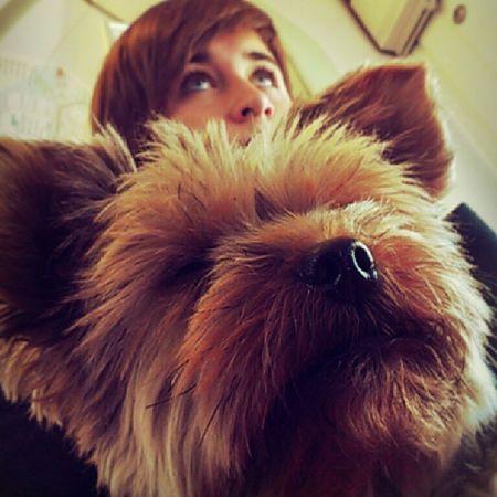Hi. Lina Dog Me Gestern yesterdaymunich münchenbyebyeschade schönwars mit @leeenaa__ un Tess love likealways likemypic picoftheday freu mich auf @happy_strawberries:) subway