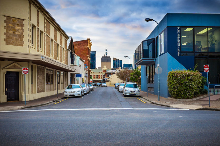 Australia Street View Adelalide City Day No People Outdoors Sky blue sky blue building