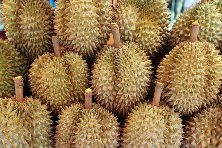 Close-Up Of Durian Fruit