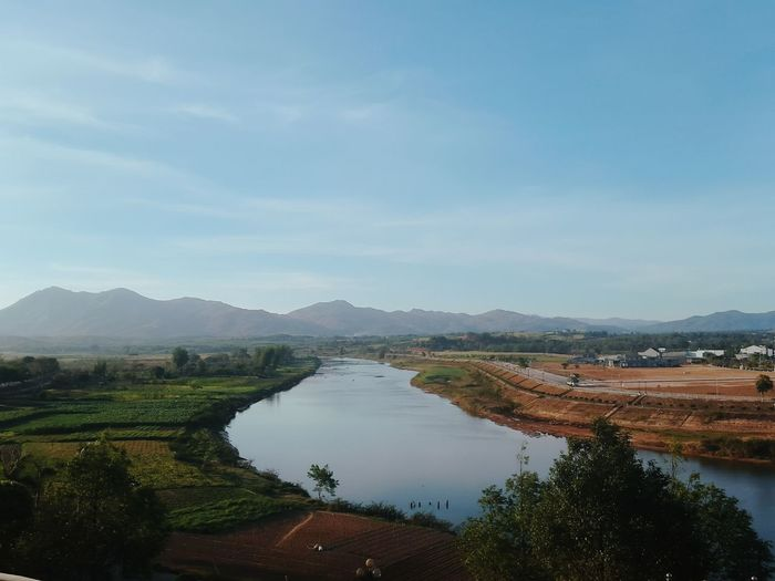 #kontumcity #vietnam #no filter #indochine hotel #kontum City #Vietnam #no Filter! #indochine Hotel Agriculture Water Mountain Outdoors No People Landscape Nature