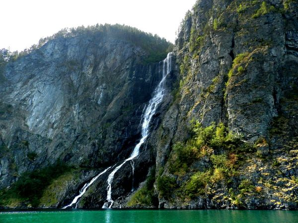 Norway Waterfall Nature_collection Montains    Fiordo At Norway Perspectives On Nature